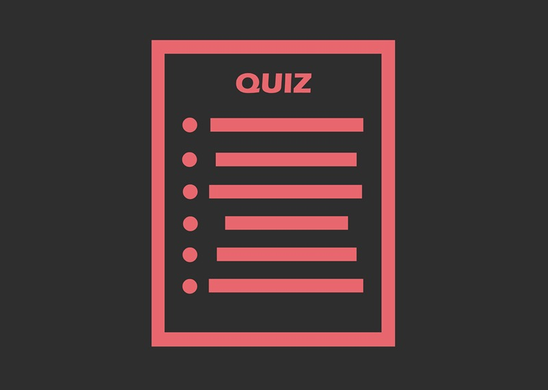 quiz for blog