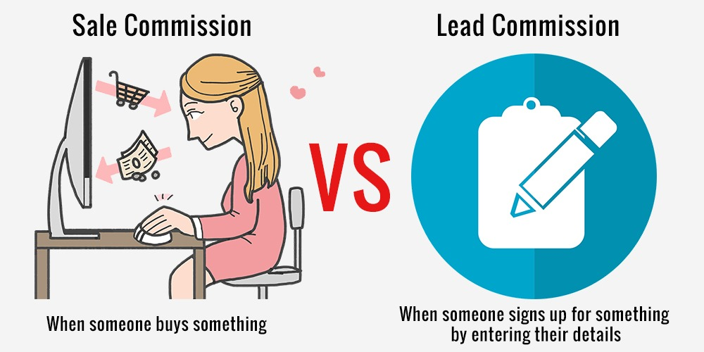 Sale vs Lead commission