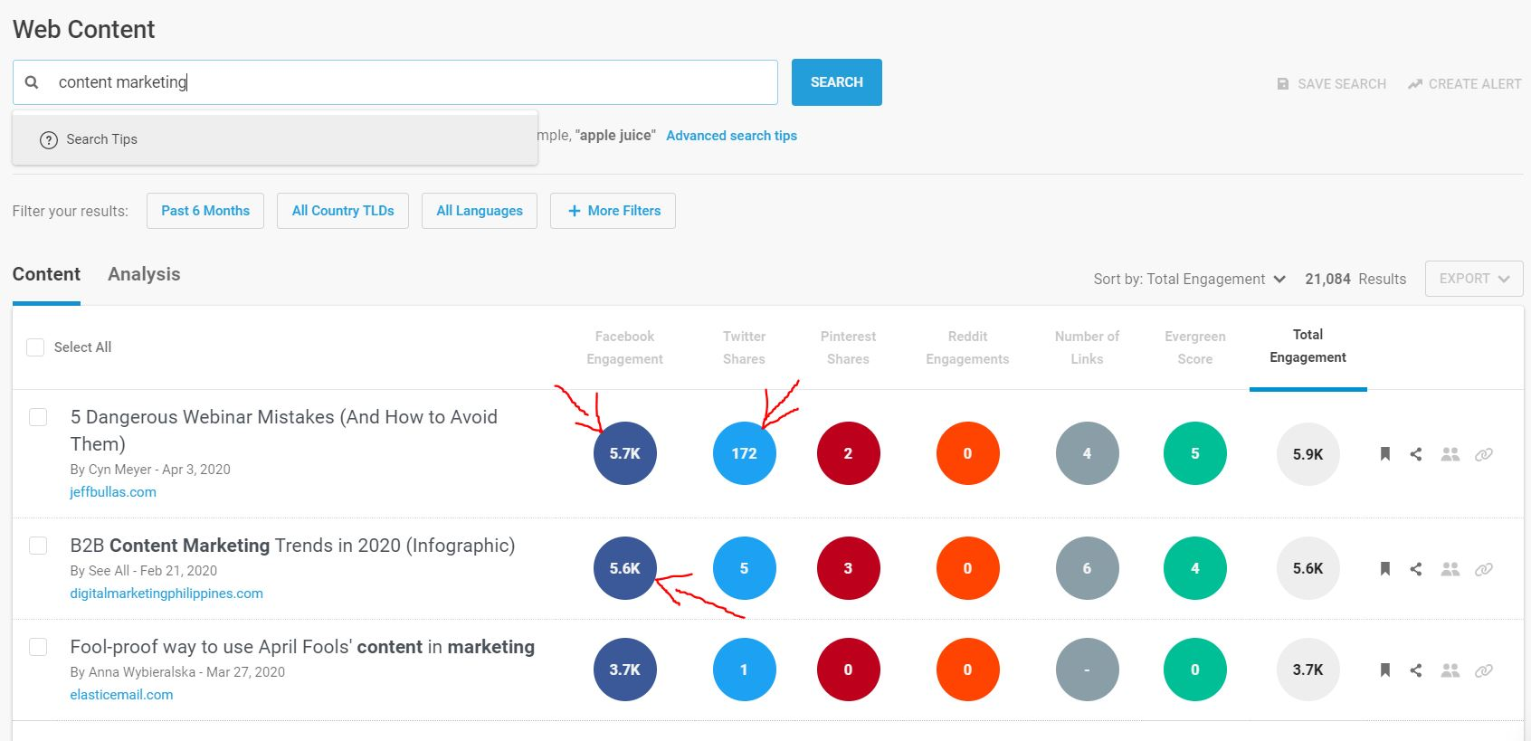 use buzzsumo for creating better content