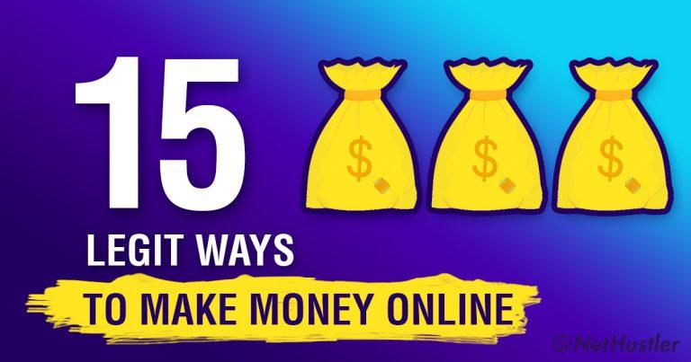 15 Ways To Make Money Online – LEGIT methods to earn online in 2021