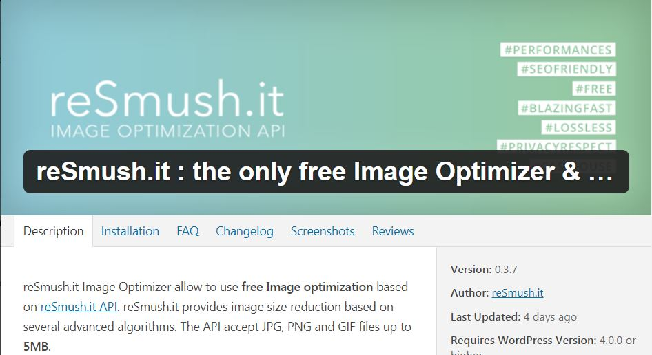 resmush.it - Best WordPress Plugins for Affiliate Marketing
