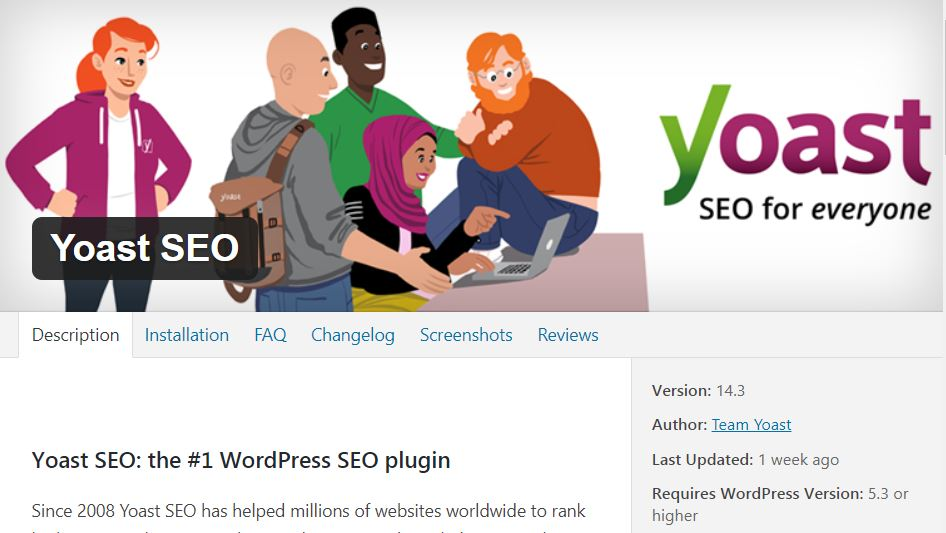 yoast seo - affiliate marketing plugins