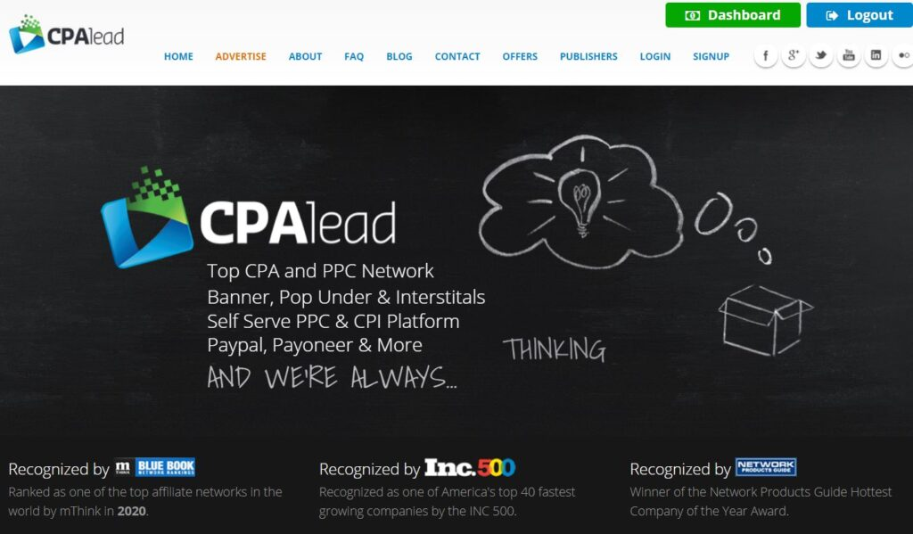 CPA Lead - CPA Network for Beginners