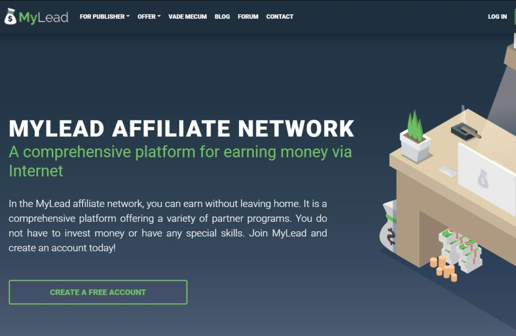 MyLead - CPA Network for beginners