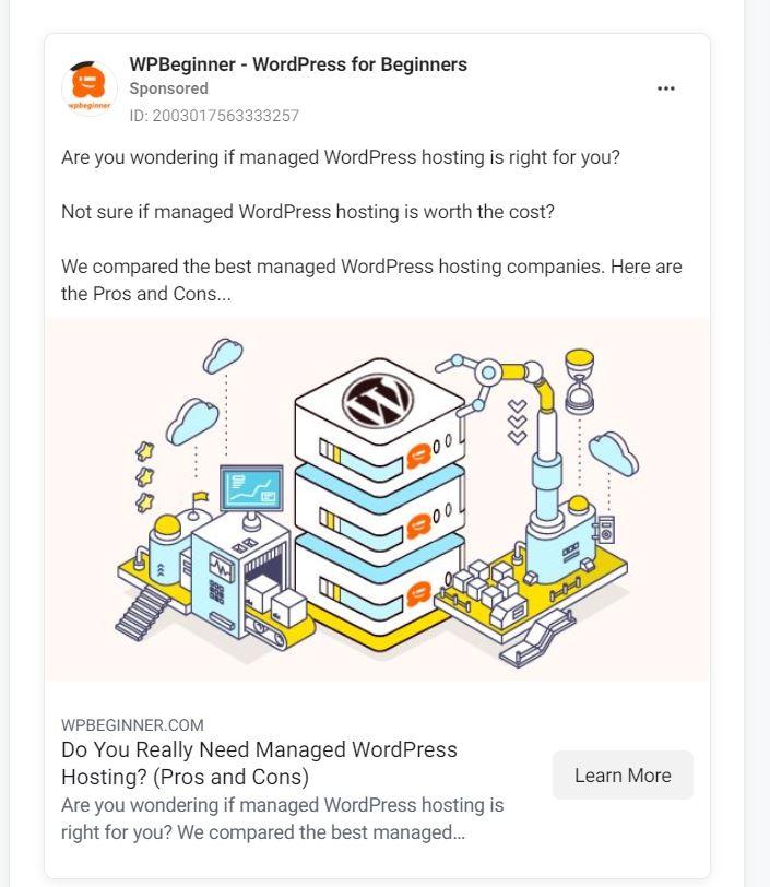 affiliate marketing on Facebook Ads