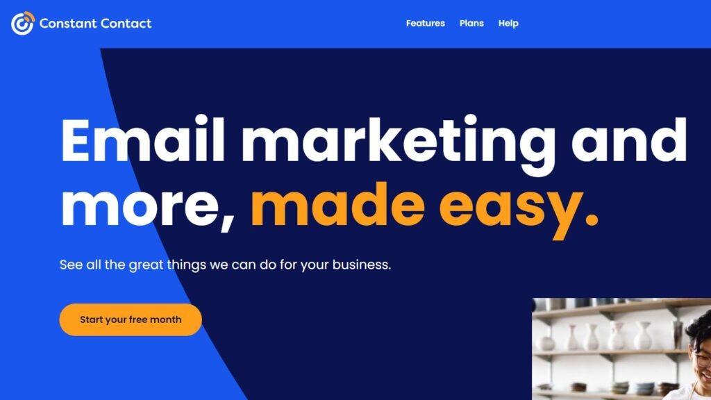 constant contact - top mailchimp alternatives