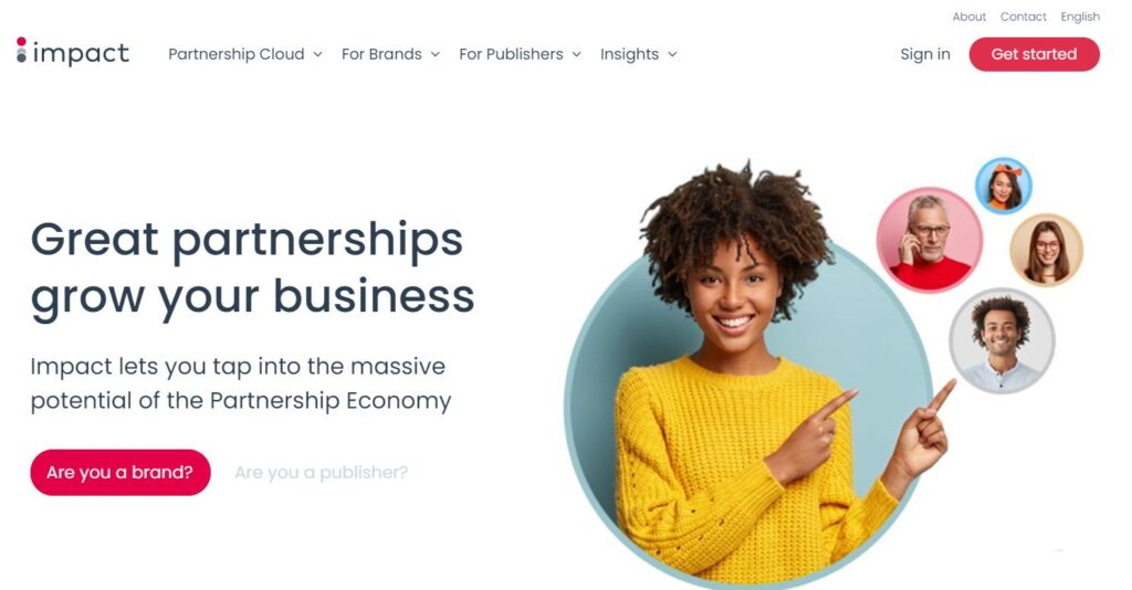 impact - affiliate network