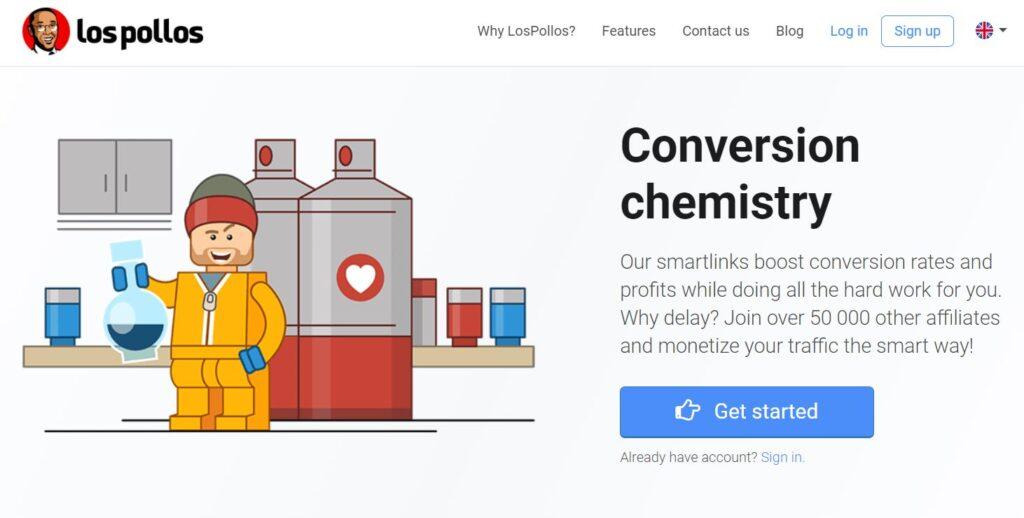 lospollos - Smartlink based CPA network