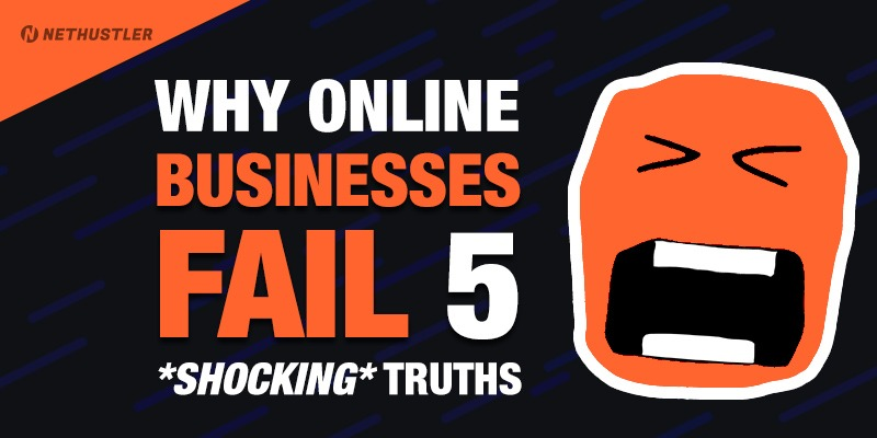 Why online businesses fail