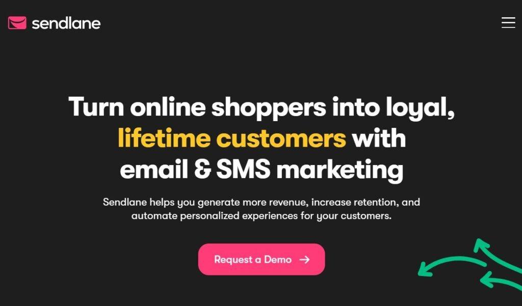 sendlane - mailchimp alternative for ecommerce