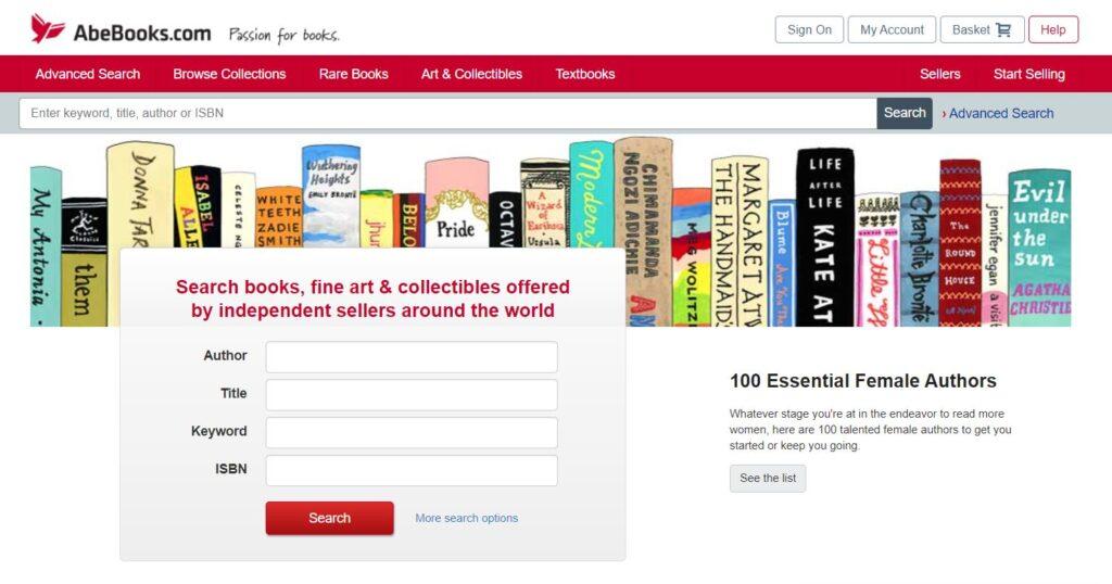 AbeBooks Affiliate program