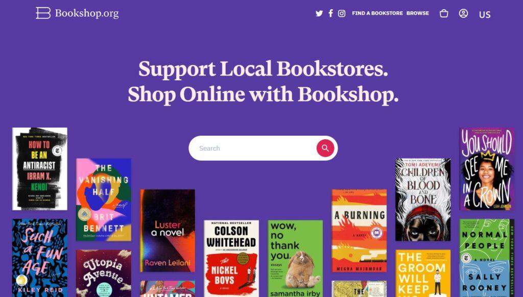 Bookshop affiliate program