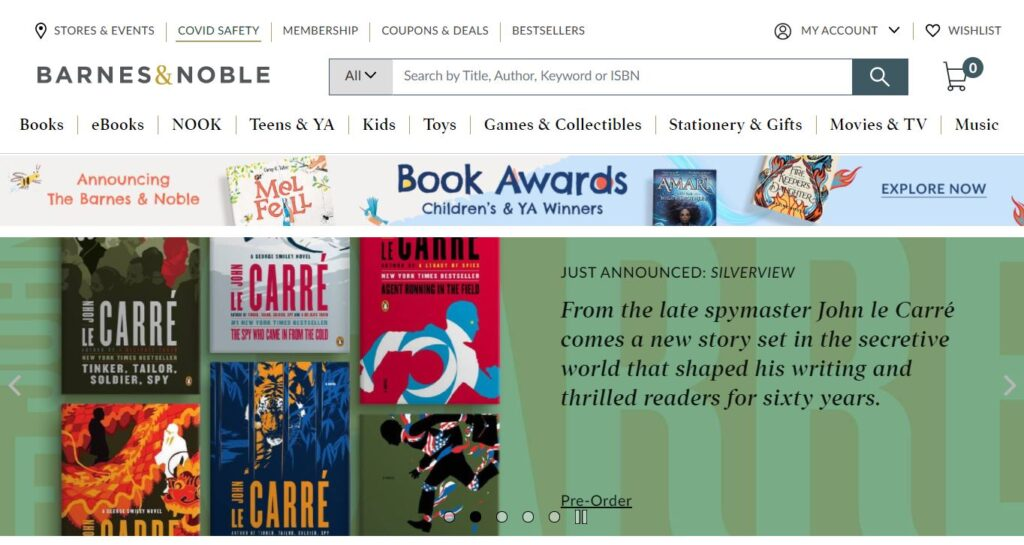 Barnes and Noble Affiliate Program