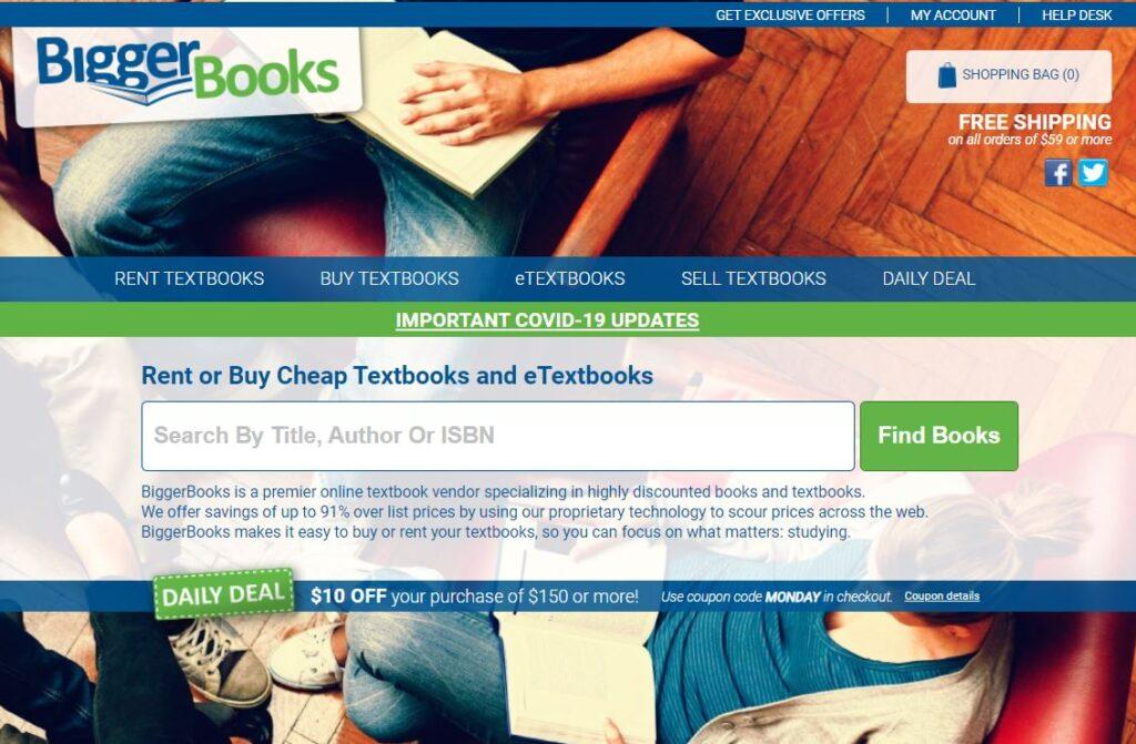 BiggerBooks affiliate program