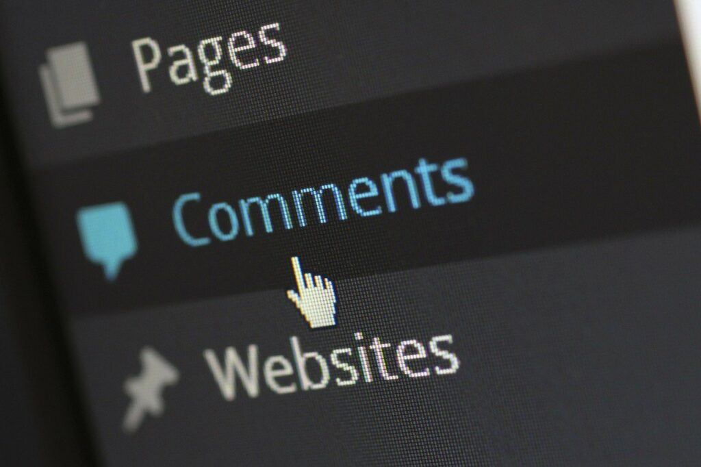 reply to comments after you publish a new blog post