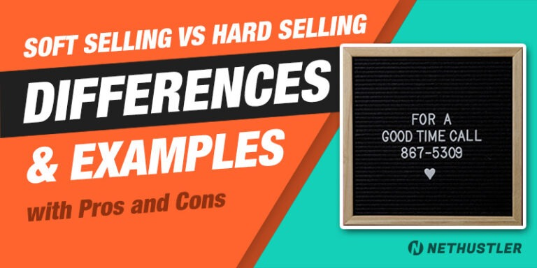 Soft Selling vs Hard Selling: What's the difference?
