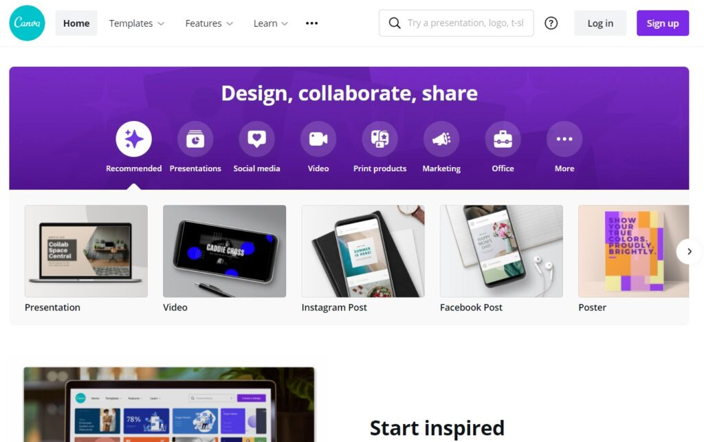 canva digital marketing tools for design