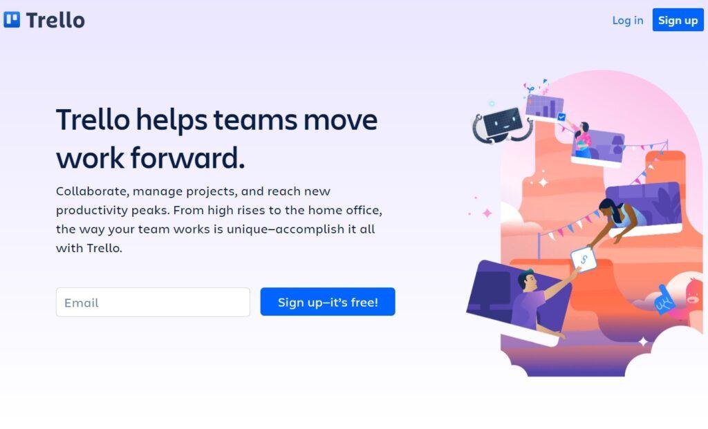 digital marketing tools for teams trello